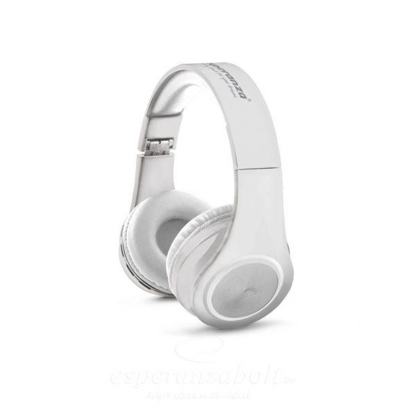 Esperanza Flexi Bluetooth Fejhallgató fehér EH165W