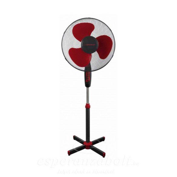 Esperanza Hurricane álló Ventilátor Fekete piros EHF001KR
