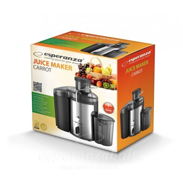 Esperanza Carrot Juice Készítő Gyümölcs Centrifuga EKJ002