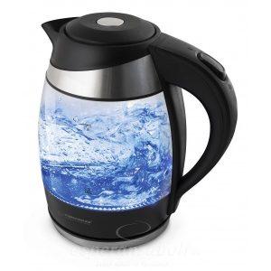 Esperanza Vízforraló 1.8 L Üveg LED világítással