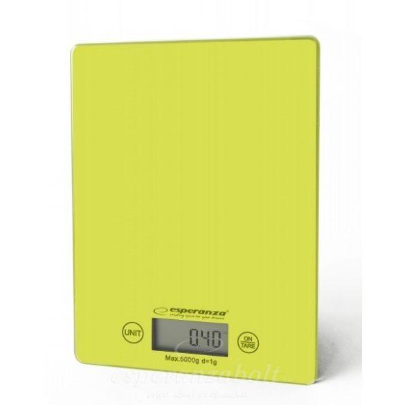 Esperanza Konyhai Mérleg Lemon Green EKS002G