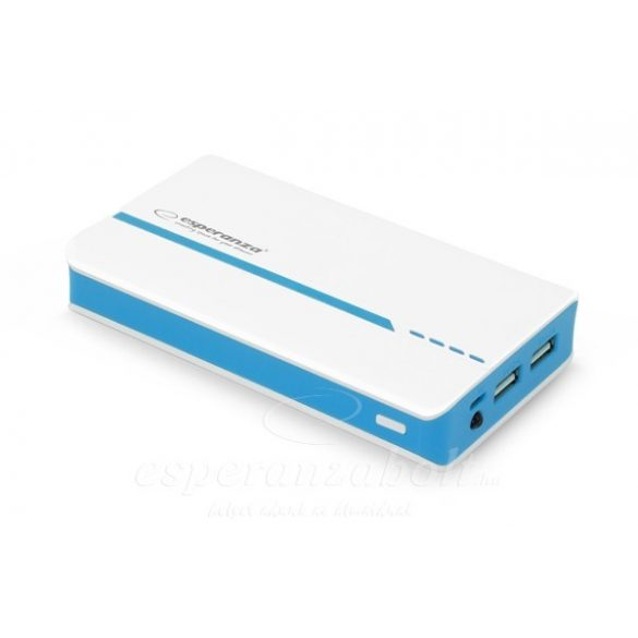 Esperanza Powerbank 11000MAH Atom White/Blue EMP107WB