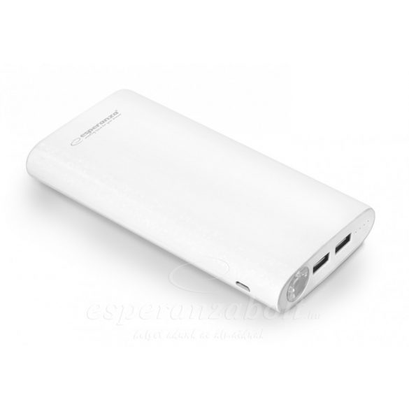 Esperanza Power Bank Nitro 17400Mah White