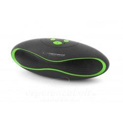 Esperanza Trival Bluetooth hangszóró Fekete-zöld EP117KG
