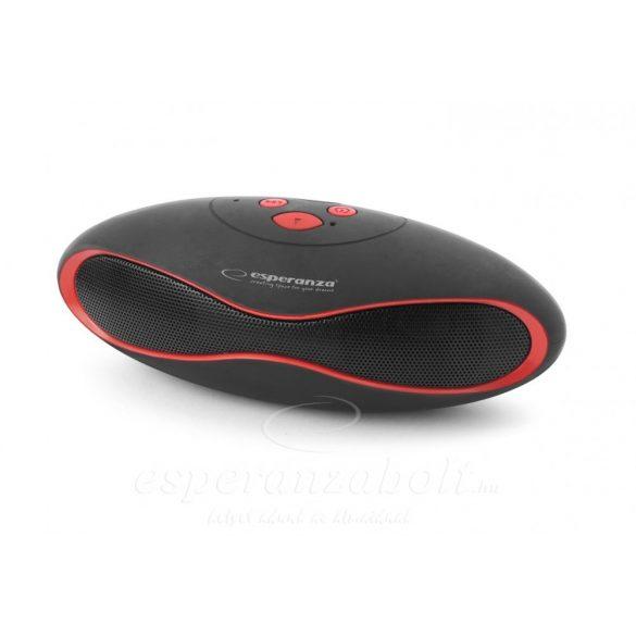 Esperanza Trival Bluetooth hangszóró Fekete-piros EP117KR