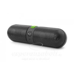 Bluetooth Hangszóró Led Világítással Esperanza Piano fekete-zöld