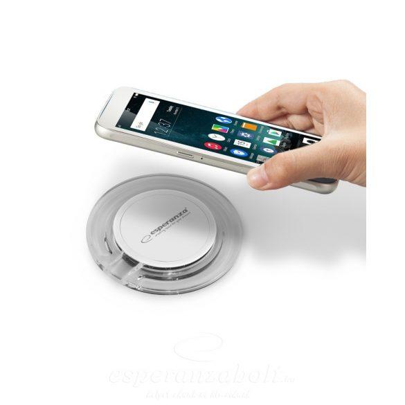 Esperanza vezetéknélküli telefon QI töltő indukciós EZ127WW