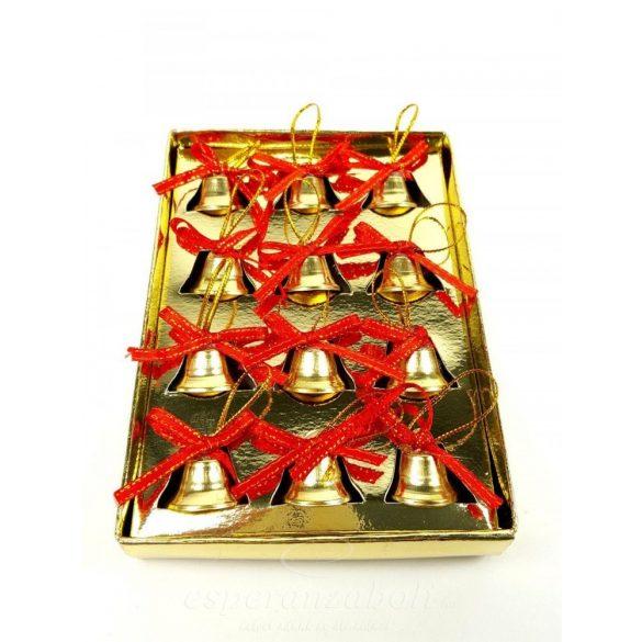 MASNIS CSENGŐ - arany 12 db/csomag, 2 cm