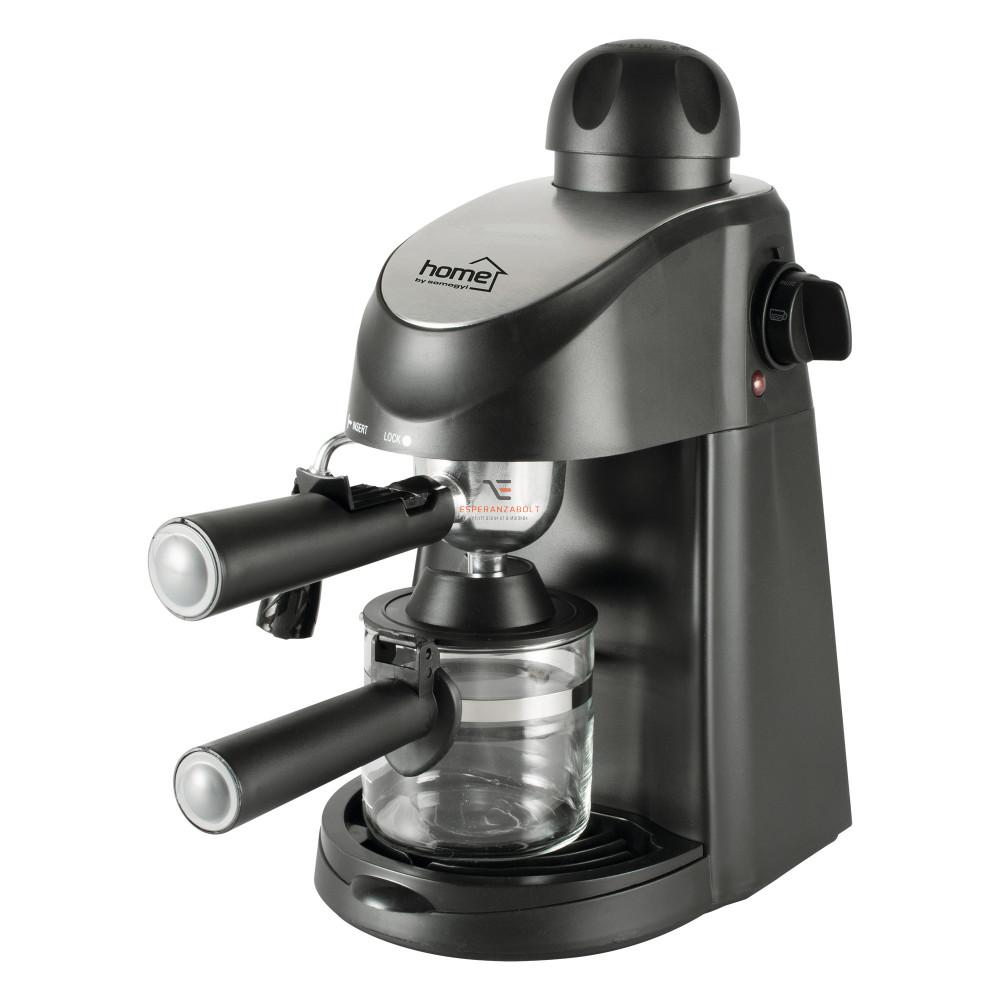 HOME Espresso kávéfőző tejhabosítóval HG PR 06 | Esperanza B