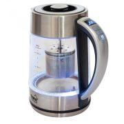 Home Teafőző, üveg, termosztátós 2000 W, 1,7 L HG TF 17