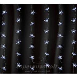 LED-es fényfüggöny, csillag, 1,5x1m, 230V