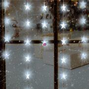 HOME LED-es fényfüggöny, csillag, 1,35m, 230V KAF 50L