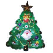 HOME LED-es ablakdísz, karácsonyfa, 20cm, 4,5V KID 314