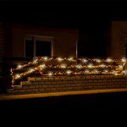 HOME LED-es sziporkázó fényfüzér 200 LED 20m IP44 KKL 200F/WH