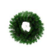 HOME karácsonyi fenyő kopogtató 50cm ajtódísz 3D levelekkel KMK 50