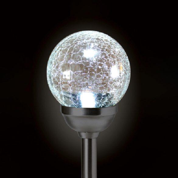 Home Szolár kerti lámpa, üveggömb MX 826