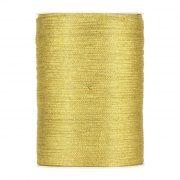 Karácsonyi mintás Szalag arany csillogós textil 3mmx500m