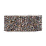 Karácsonyi mintás Szalag kék,barna szőtt hatású 40mmx10m