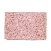 Karácsonyi mintás Szalag rózsaszín glitteres pöttyös 63mmx20m