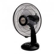 Home Asztali ventilátor, 30cm, 40 W, fekete TF 32/BK