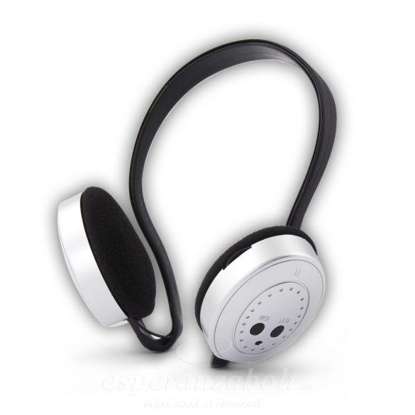Titanum vezetéknélküli fejhallgató Fm rádióval