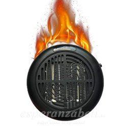 Digitális fűtőtest konnektorba dugható 600W