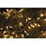 Karácsonyi Fényfüzér Cherry Süni 2,44M 288Led Ip44 Időzítő Meleg Fehér