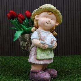 Kerti Figurás kaspó