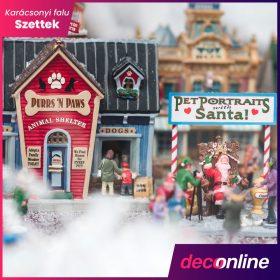 Karácsonyi falu szett