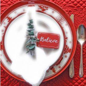 Karácsonyi konyha, étkezés, tálalás