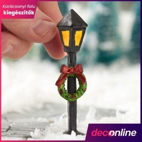 Karácsonyi falu figurák és kellékek