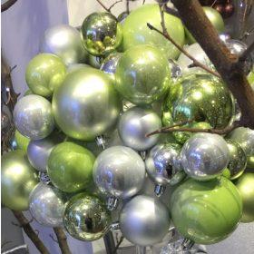 Zöld karácsonyfadísz