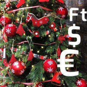 Karácsonyi dekoráció ár szerint