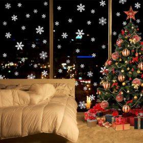 Karácsonyi ablak matrica