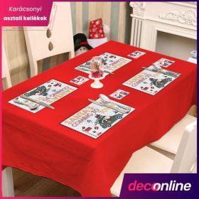 Karácsonyi asztali kellék