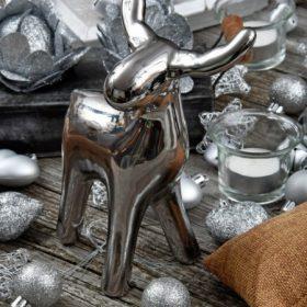 Ezüst karácsonyi dekoráció