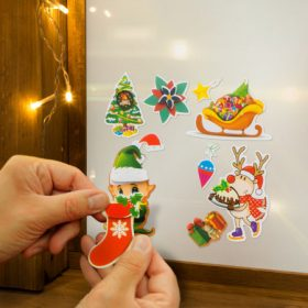 Karácsonyi matrica
