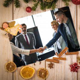 Karácsonyi dekoráció cégeknek, szervezeteknek
