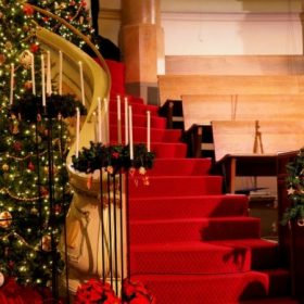 Klasszikus karácsonyi dekoráció