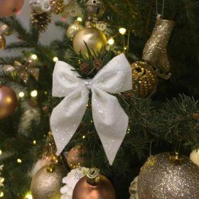 Karácsonyfadísz Glitteres, Hódarás