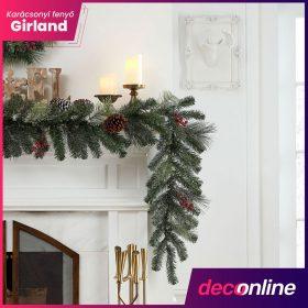 Karácsonyi fenyő girland