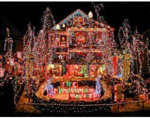10 medöbbentő és a maga módján ötletes karácsonyi világítás