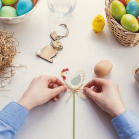Húsvéti dekorációs kellék