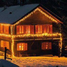 Sorolható karácsonyi fényfüzér rendszer 1200 LED-ig