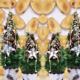 Grincsfa kellékek