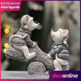 Karácsonyi állat figurák