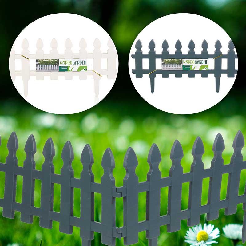 Ágyásszegély kerítés