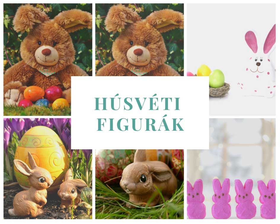 Húsvéti dekorációs figurák