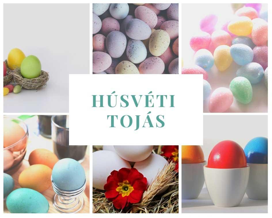 Húsvéti dekoráció tojások