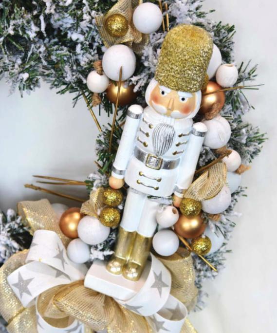 Karácsonyi dekoráció diótörő
